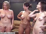 3 laski, jeden penis