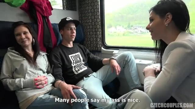 Czworokąt w jadącym pociągu